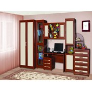 """Мебель для детской с платяным шкафом и письменным столом """"Дана"""""""