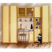 """Комплект мебели для детской комнаты с письменным столом """"Белка-мини"""""""