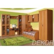 """Комплект мебели для детской с книжным шкафом и столом """"Дана-5"""""""
