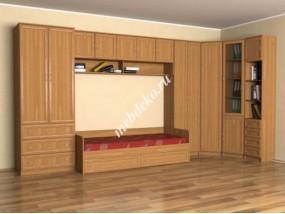 """Стенка в детскую комнату """"Эсфирь-2"""" с кроватью"""