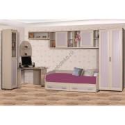 """Комплект мебели для детской комнаты с платяным  шкафом """"Дана-6"""""""