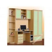 """Мебель для детской комнаты  """"Ника"""" с платяным шкафом"""