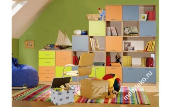 """Набор мебели в детскую с многоцелевыми шкафами """"Спринт-6"""""""