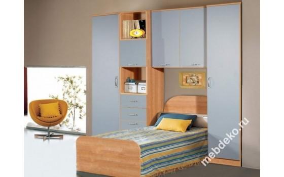 """Набор мебели для детской с кроватью """"Спринт-7"""""""