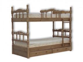 """Детская  2-х ярусная кровать  """"Лиона"""" с ящиками (в)"""