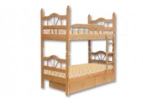"""Детская  2-х ярусная кровать  """"Луч-2"""" с ящиками (в)"""