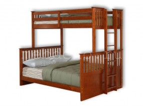 """Детская  2-х ярусная кровать из натурального дерева """"Модерн-12""""  (в)"""