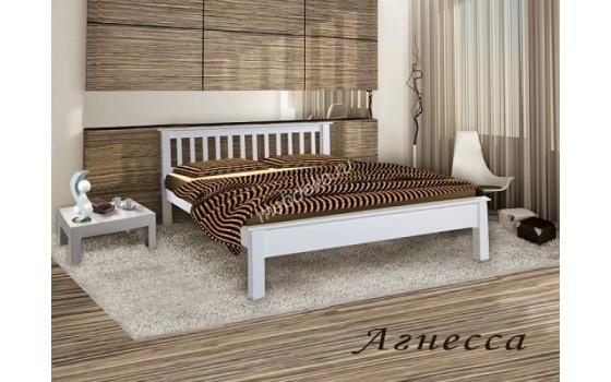 """Кровать из дерева с одной спинкой  """"Агнесса"""""""