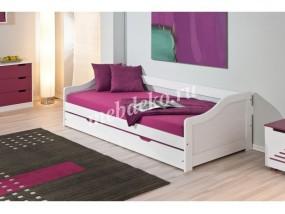 Кровать из натурального дерева Ева-12