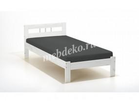 Кровать из натурального дерева Ева-1