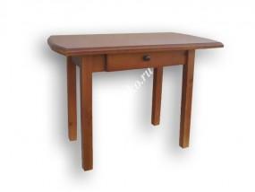 Стол  с выдвижным ящиком из массива сосны (в)