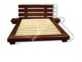 """Кровать в японском стиле """"Токио плюс"""" из массива дерева"""