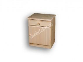 Прикроватная тумба №4 с дверцей (в)