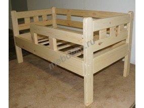 """Кровать детская """"Веселина"""" из массива сосны"""