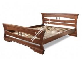 """Кровать """" Вивианна """" из массива дерева"""
