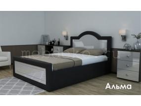"""Кровать в ткани """"Альма"""""""