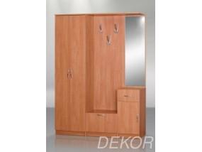Мебель в прихожую Анна-2 с зеркалом, шкафом и вешалкой