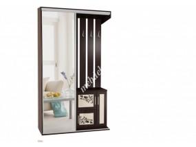"""Комплект мебели в прихожую """"Жозефина-4"""" с ростовым зеркалом"""