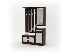 Комплект мебели в прихожую Комби-3 (фасад рамка МДФ)