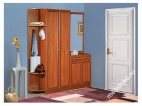 Комплект мебели для прихожей Салют-11 с зеркалом
