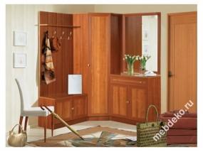 Комплект мебели в прихожую Салют-3 с угловым шкафом