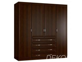 """""""Классика 4.4-Ф"""" шкаф распашной комбинированный с выдвижными ящиками"""