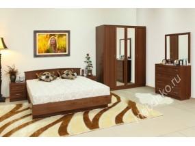 """Спальный гарнитур """"Светлана М6"""" с кроватью 1600х1900"""