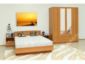 "Мебель для спальни ""Светлана М8"" с 4-х створчатым шкафом"