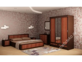 "Спальня ""Валерия-11"" (шкаф-купе 3-х створчатый)"