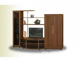 """Комплект мебели в гостиную комнату с тонированным стеклом и нишей под телевизор """"Бетховен-2"""""""