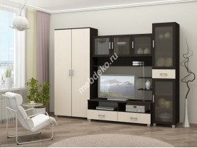 """Комплект мебели для гостиной мебели со стеклом""""Кари"""""""