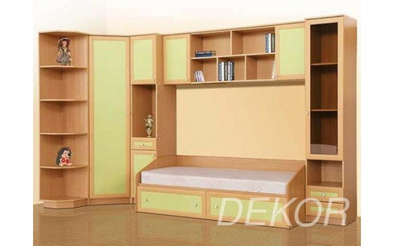 """Комплект мебели в детскую с кроватью """"Умка"""""""