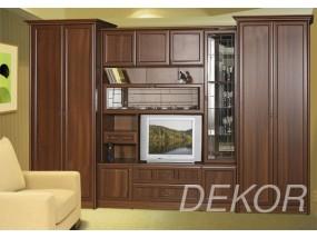 """Комплект мебели для гостиной с 2 двустворчатыми шкафами""""Юникс"""""""
